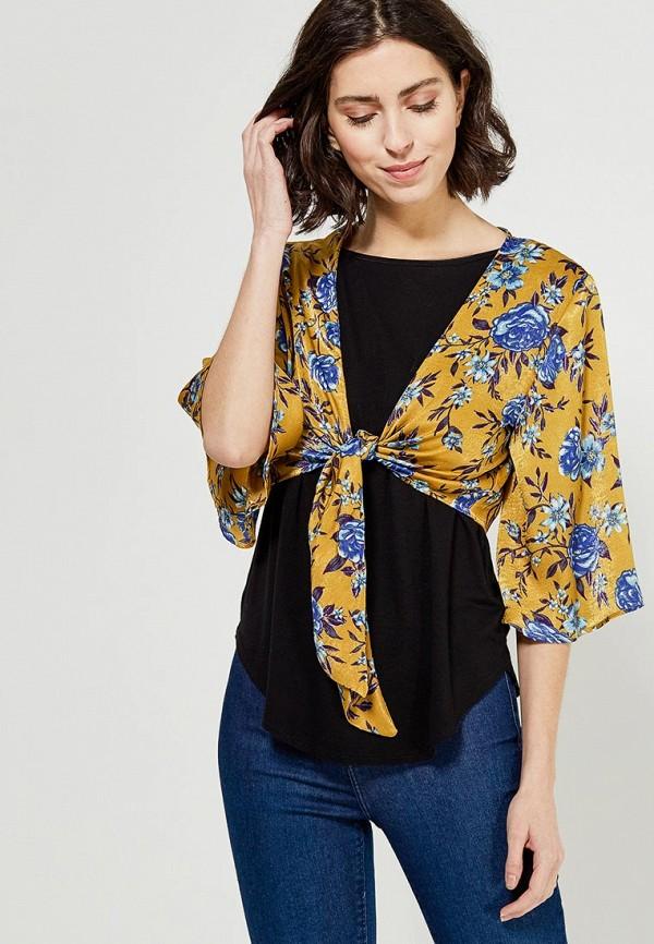 Блуза Topshop Topshop TO029EWZPV51 шорты джинсовые topshop topshop to029ewarxe9