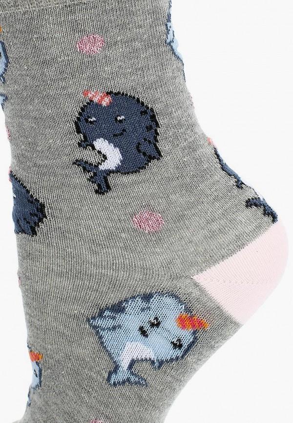 Фото 6 - женские носки или гольфы Topshop серого цвета