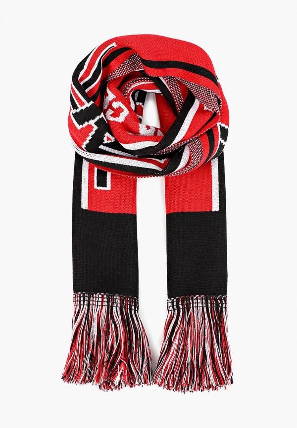 женский шарф topshop, красный