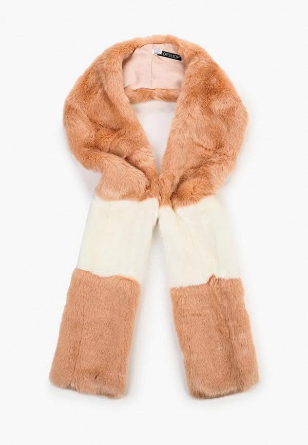 Купить женский шарф Topshop розового цвета