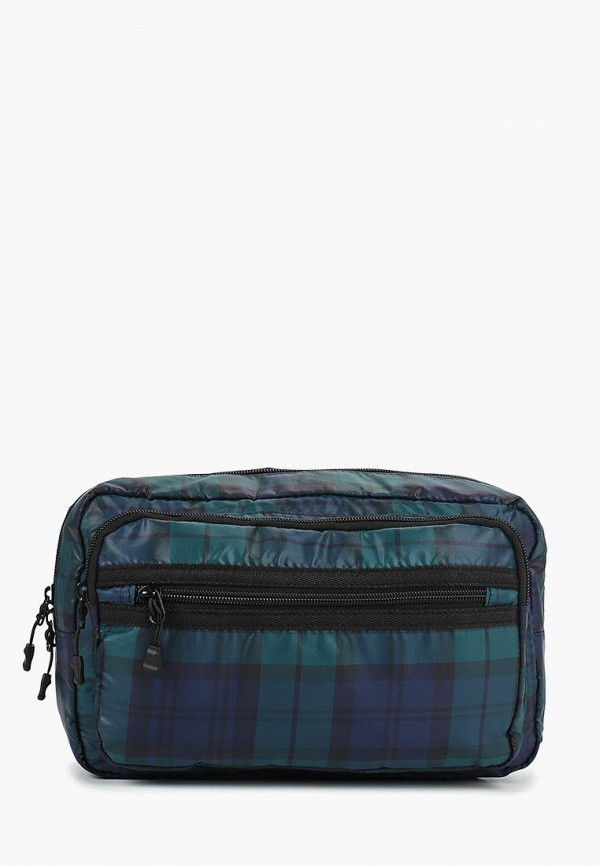 мужская сумка topman, синяя