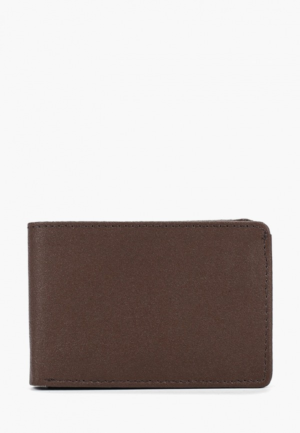 мужской кошелёк topman, коричневый