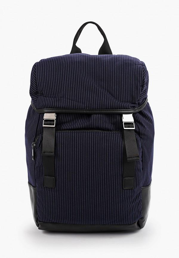 мужской рюкзак topman, синий