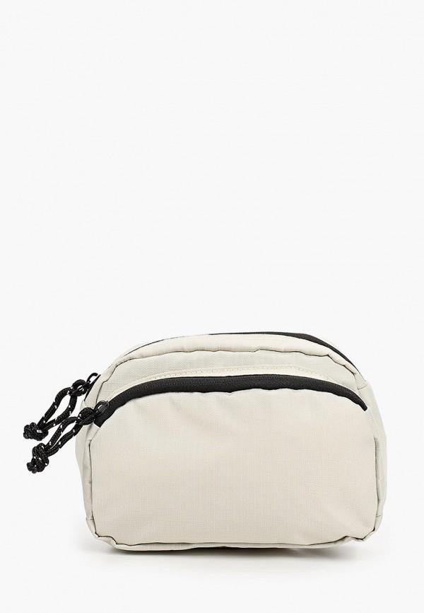 мужская сумка topman, бежевая