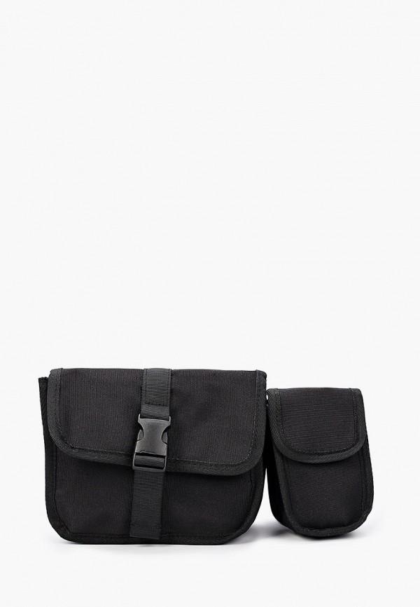 мужская сумка topman, черная