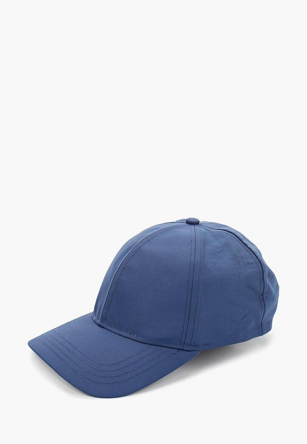 мужская бейсболка topman, синяя