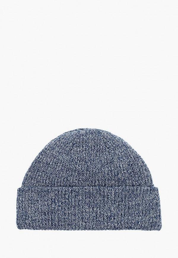 мужская шапка topman, синяя
