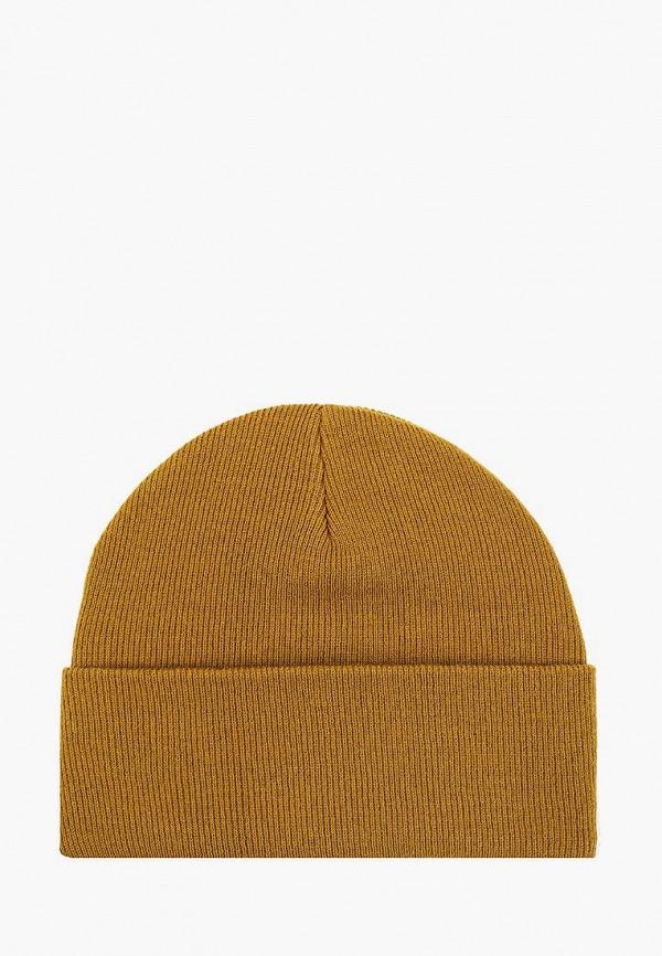 мужская шапка topman, коричневая