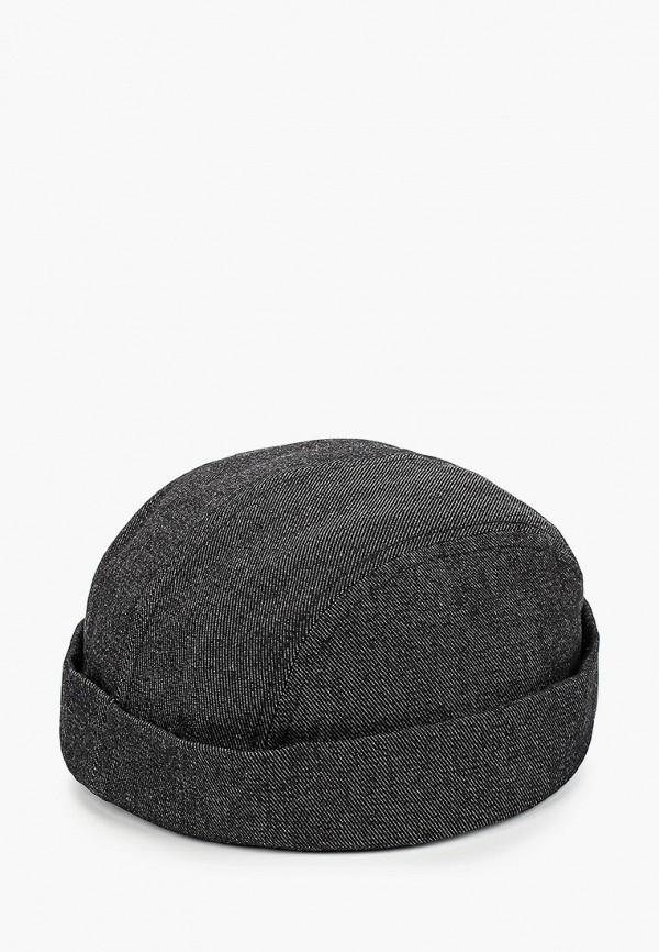 мужская шапка topman, серая