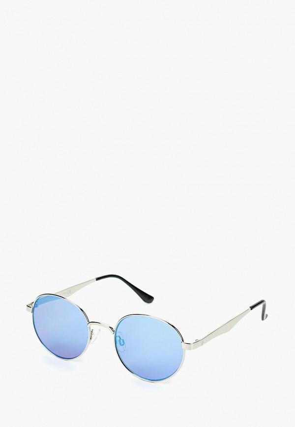 Солнцезащитные очки  серебряный цвета