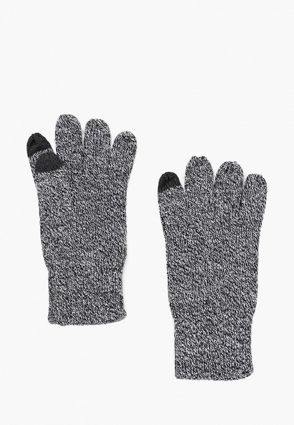 Перчатки  серый цвета