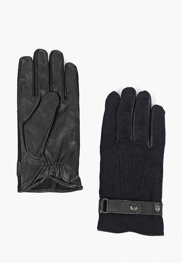 мужские перчатки topman, синие