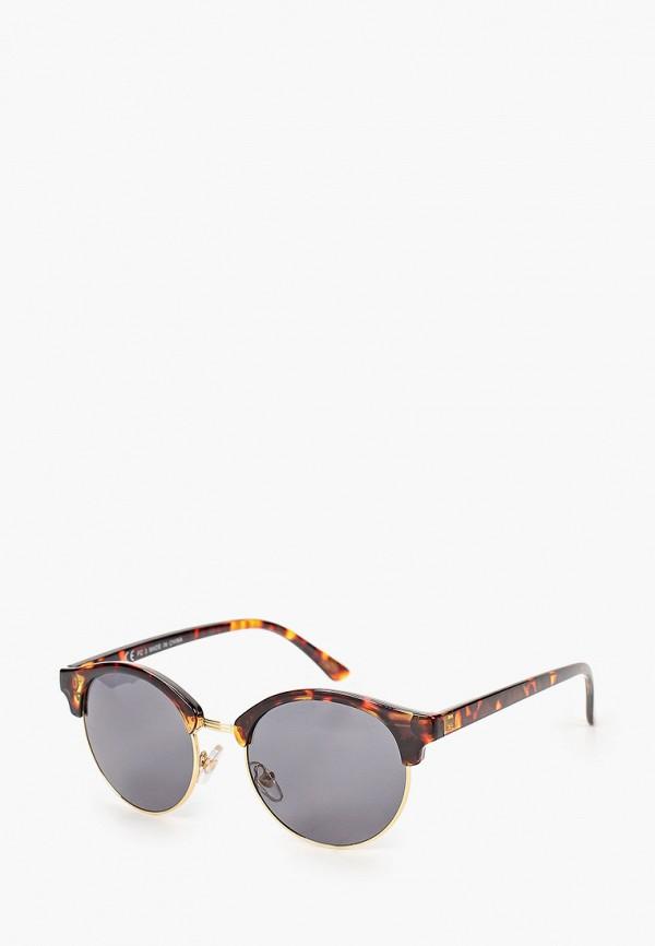мужские солнцезащитные очки topman, коричневые