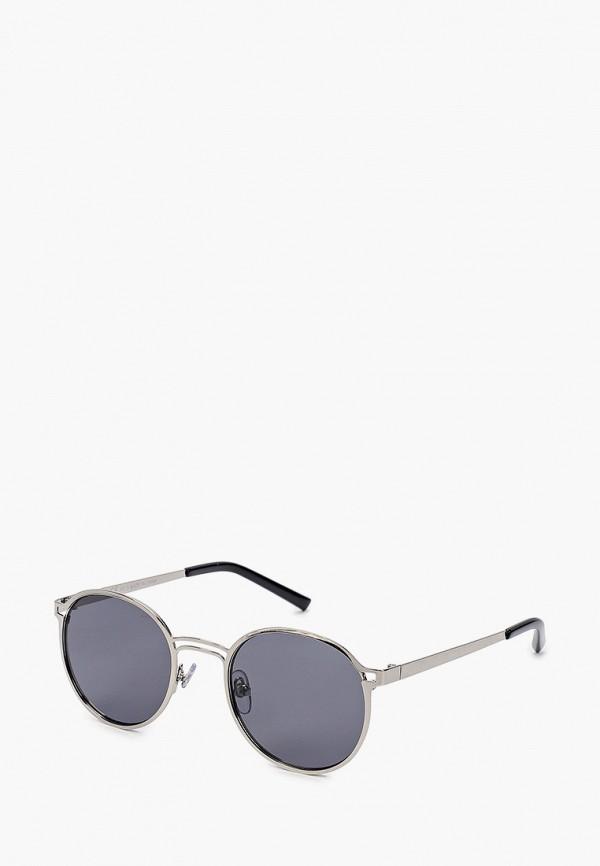 мужские солнцезащитные очки topman, серебряные
