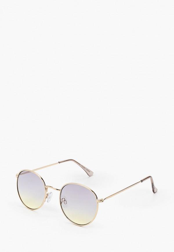 мужские солнцезащитные очки topman, золотые