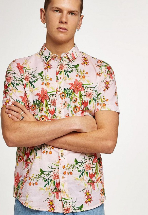 Рубашка Topman Topman TO030EMBJGN7 цена