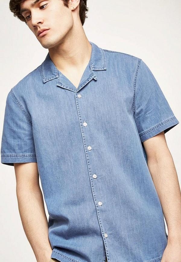 Рубашка джинсовая Topman Topman TO030EMBJGO0 цена