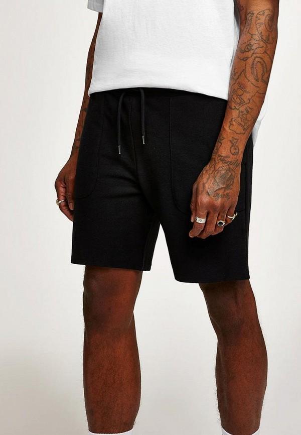 мужские повседневные шорты topman, черные