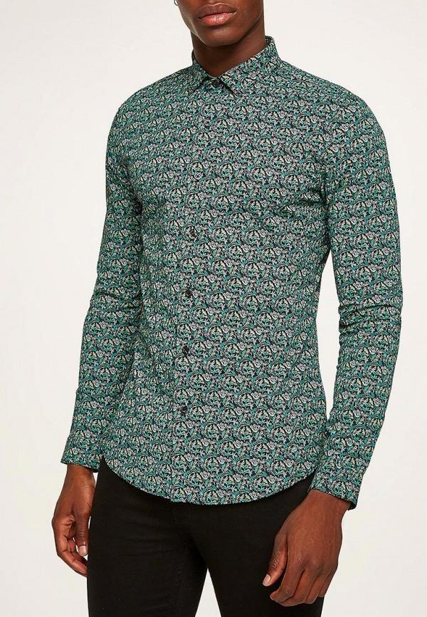 Купить Рубашка Topman, TO030EMBQEH8, зеленый, Осень-зима 2018/2019