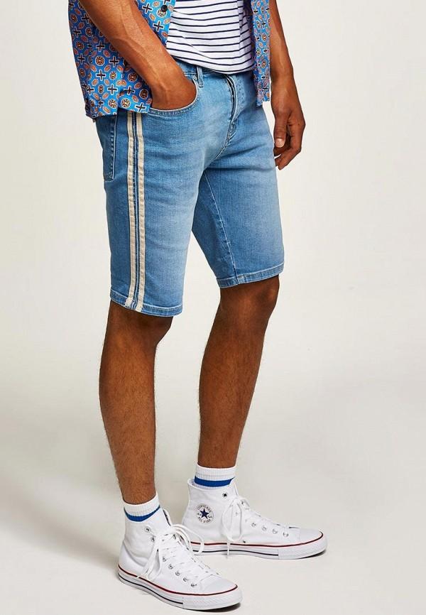 Шорты джинсовые Topman Topman TO030EMBVIP5 шорты topman topman to030emscm13