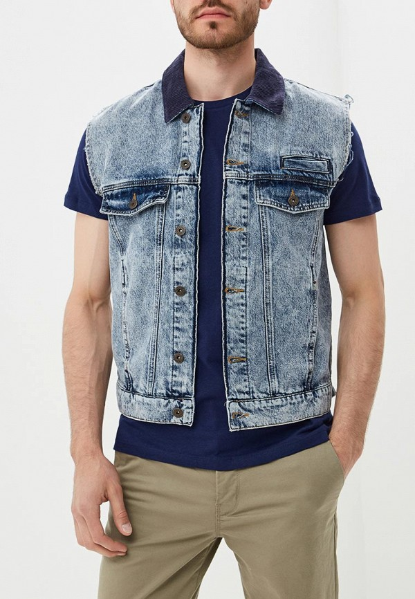 где купить Жилет джинсовый Topman Topman TO030EMBVIP9 по лучшей цене