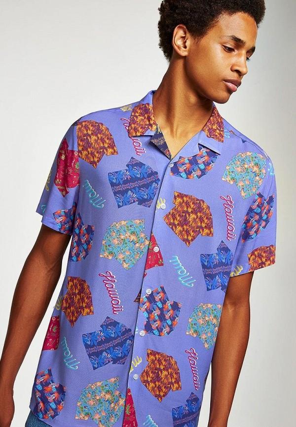 Купить Рубашка Topman, to030emcfth6, фиолетовый, Осень-зима 2018/2019