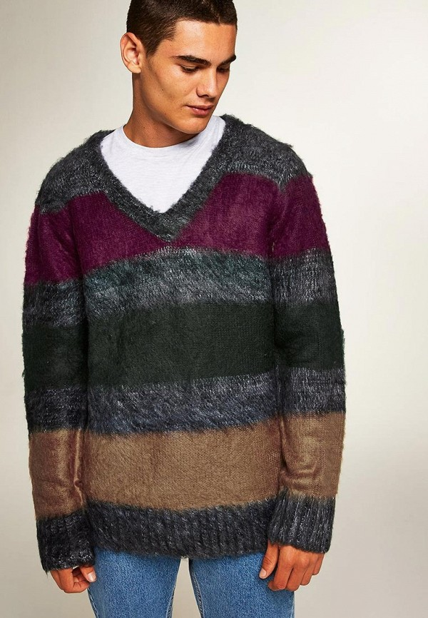 Купить Пуловер Topman, TO030EMCMPI8, разноцветный, Осень-зима 2018/2019
