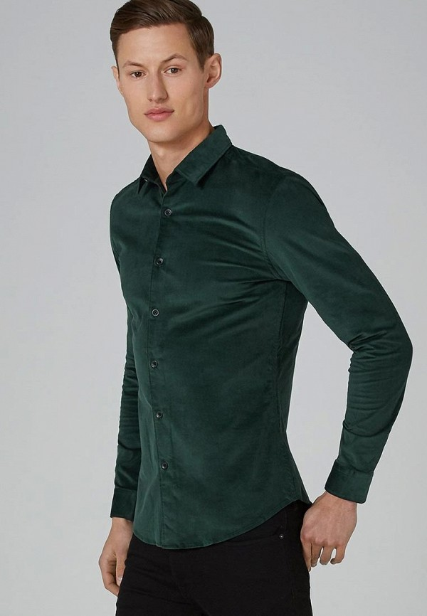 Купить Рубашка Topman, TO030EMCUQY7, зеленый, Осень-зима 2018/2019