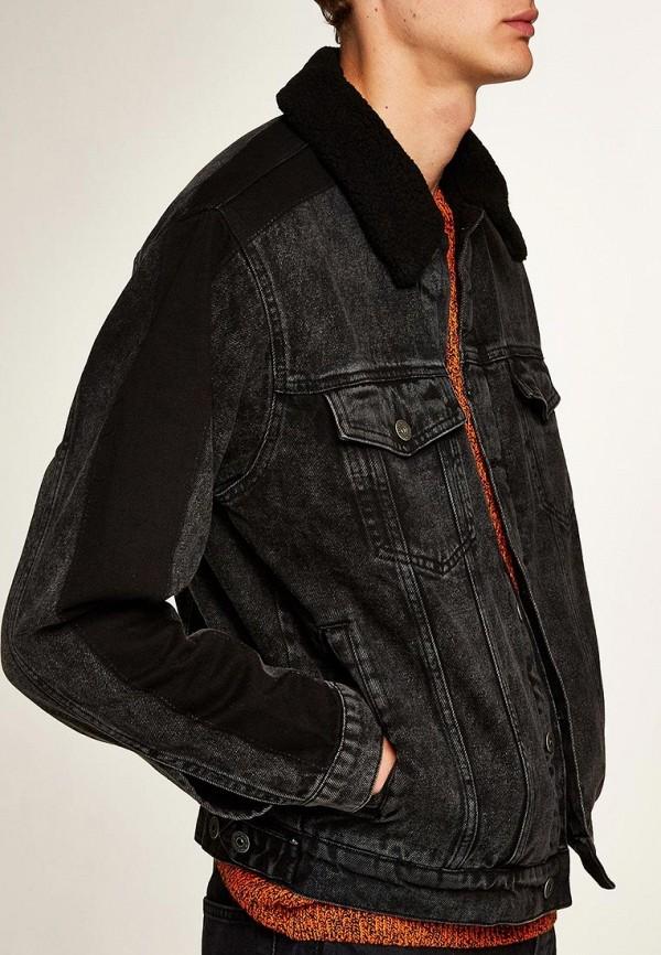 Куртка джинсовая Topman Topman TO030EMCXNB9 рубашка джинсовая topman topman to030emubu58