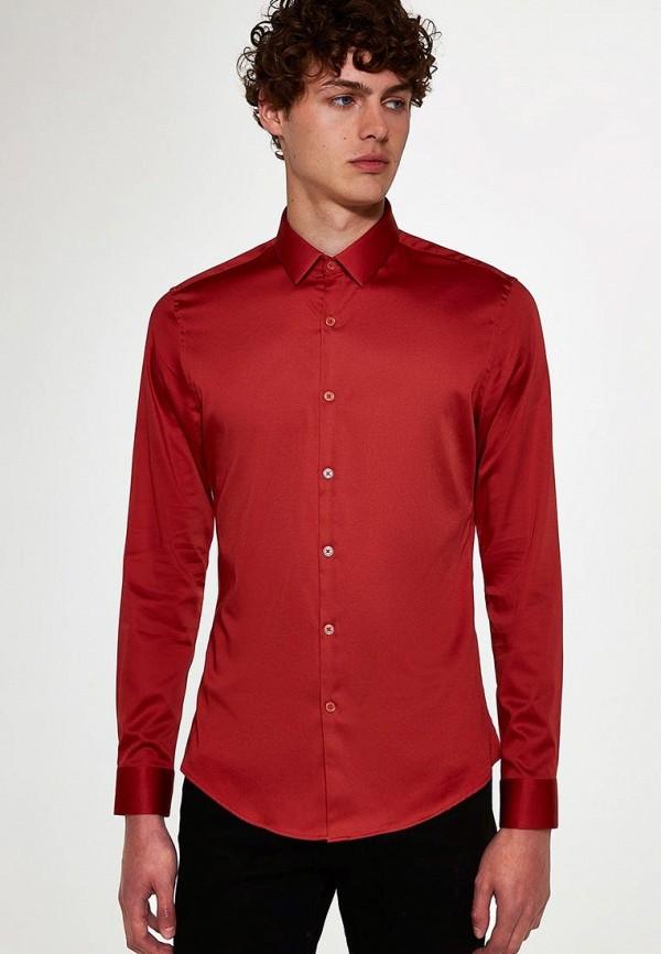 Купить Рубашка Topman, to030emdbcq9, красный, Осень-зима 2018/2019