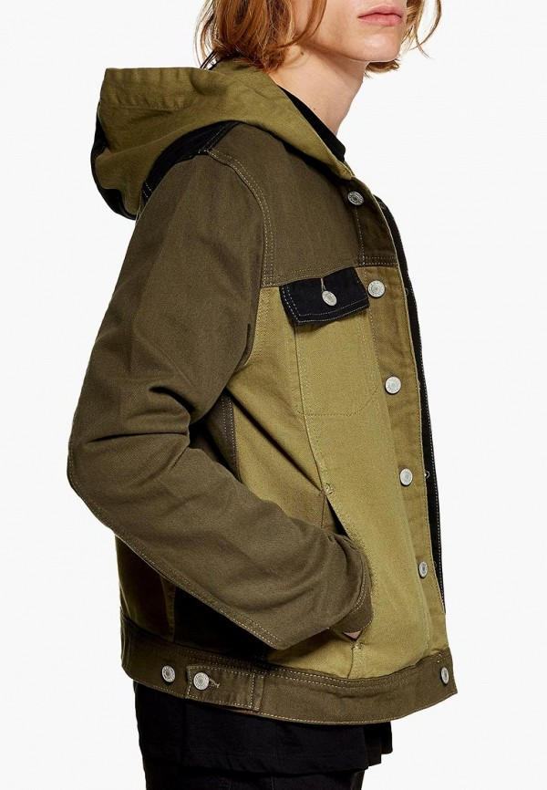 Куртка джинсовая Topman Topman TO030EMDIPK7 рубашка джинсовая topman topman to030emubu58