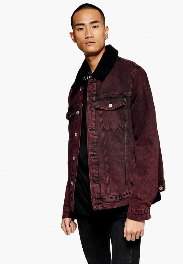Куртка джинсовая Topman Topman TO030EMDIPK8 рубашка джинсовая topman topman to030emubu58