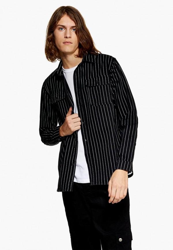 Купить Рубашка Topman, to030emdkhc9, черный, Осень-зима 2018/2019