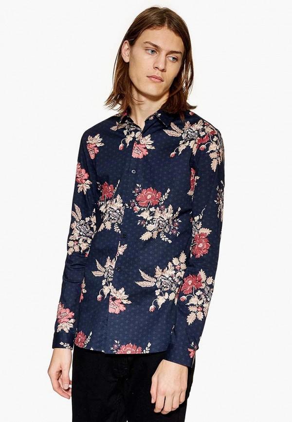 Рубашка Topman, to030emdqox9, синий, Осень-зима 2018/2019  - купить со скидкой