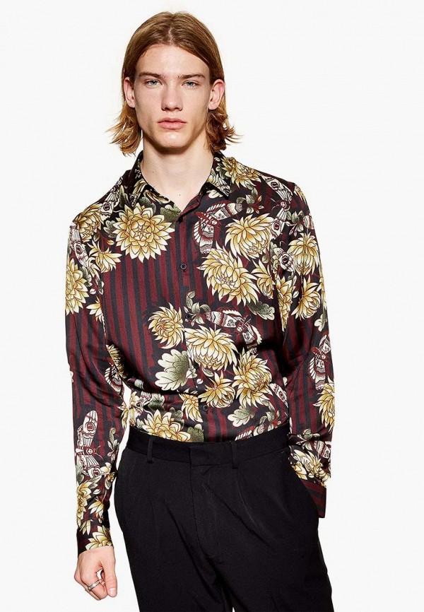 Купить Рубашка Topman, to030emdqoy1, разноцветный, Осень-зима 2018/2019