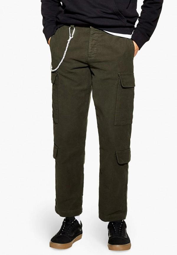 мужские повседневные брюки topman, хаки