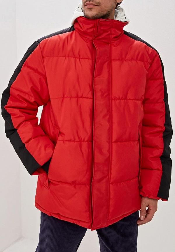 мужская куртка topman, красная
