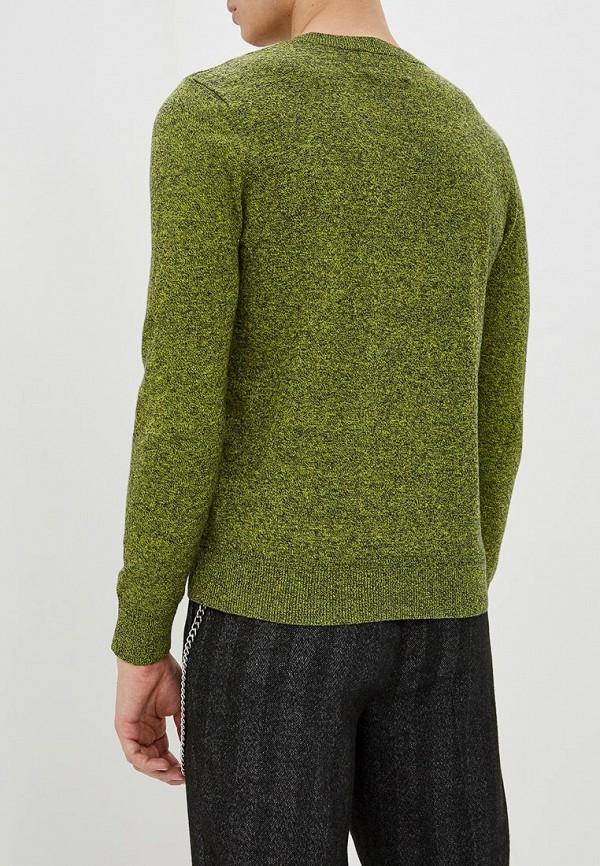 Фото 3 - мужское джемпер Topman зеленого цвета