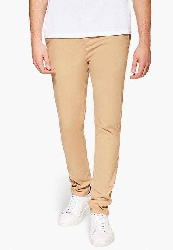мужские брюки чинос topman, бежевые