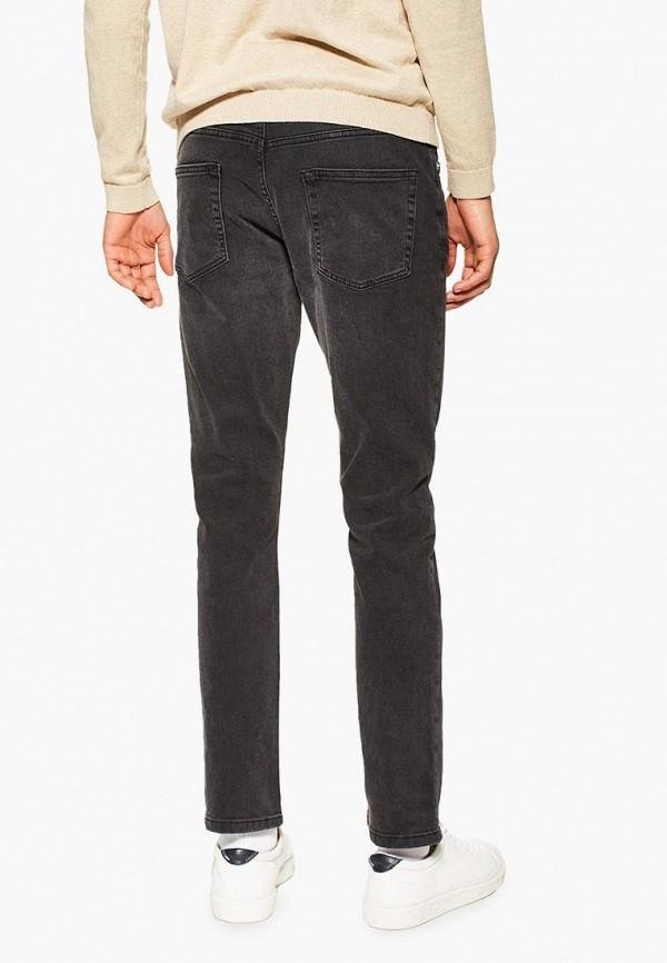 Фото 2 - мужские джинсы Topman черного цвета