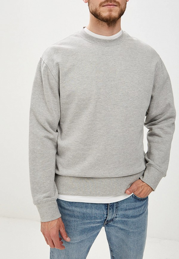 мужской свитшот topman, серый