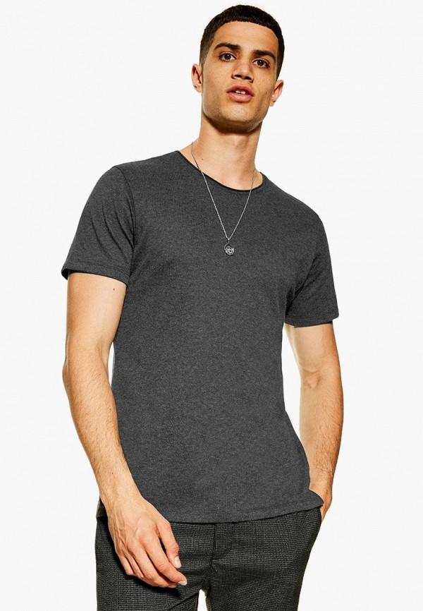 Фото - мужскую футболку Topman серого цвета