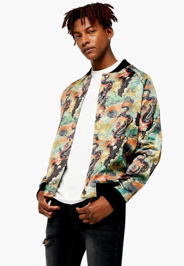 мужская куртка topman, разноцветная