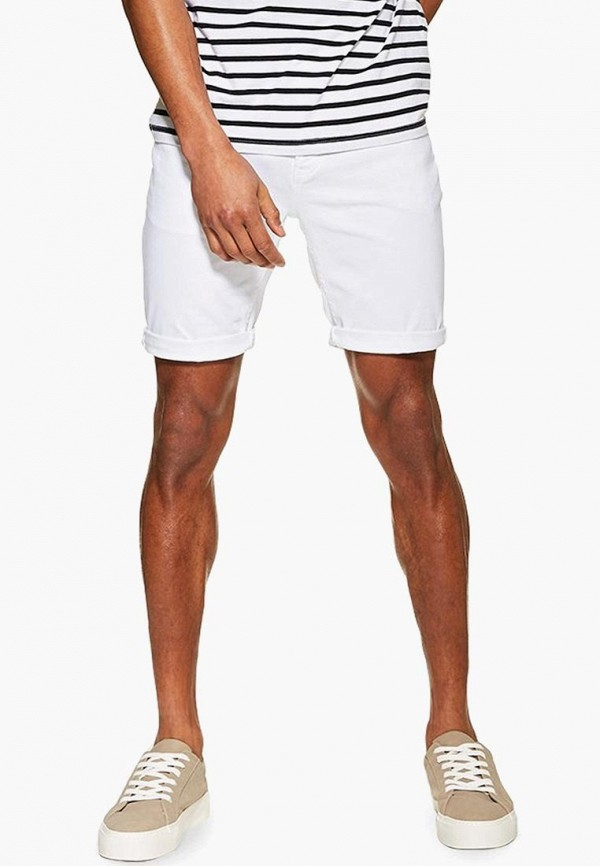 мужские шорты topman, белые