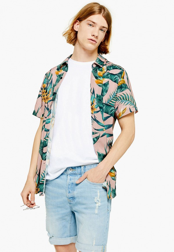 Рубашка Topman Topman TO030EMFJVC7 цена