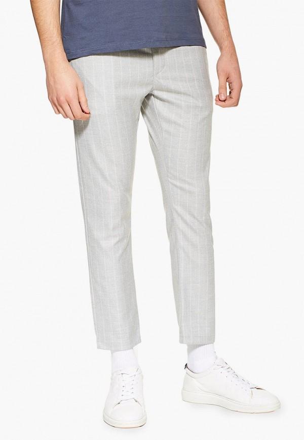 мужские повседневные брюки topman, белые
