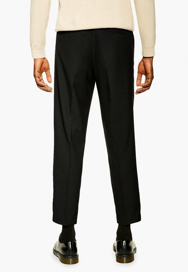 Фото 3 - мужские брюки Topman черного цвета