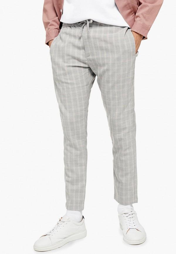мужские повседневные брюки topman, серые