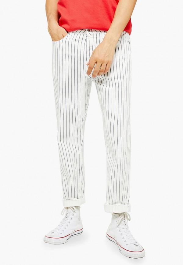мужские прямые джинсы topman, белые
