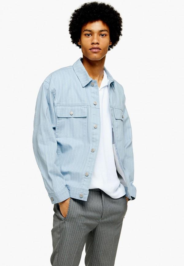 Куртка джинсовая Topman Topman TO030EMFWNK6 куртка утепленная topman topman to030emaddk7
